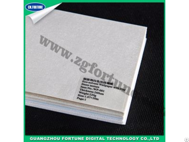 Best Quality Eco Solvent Wall Paper