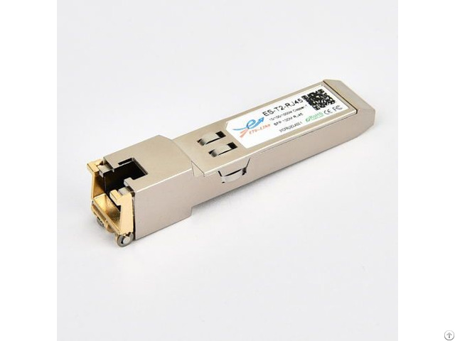 Rj45 10 100 1000m Cisco Compatible Copper Sfp Optical Transceiver