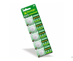 Lithium Button Cell 3v Non Rechargeable Battery