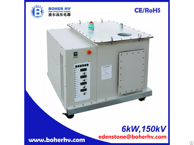 Electron Beam Welder High Voltage Power Supply Eb 380 6kw 150kv F30a B2kv