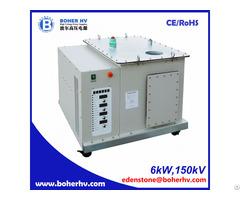 Electron Beam Welder High Voltage Power Supply Eb 380 6kw 150kv F30a B2kv
