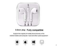 Earphones Headphones Portable 3 5mm In Ear Earbuds With Mic Volume Control For Xiaomi Goophone