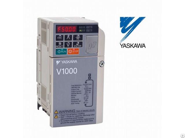 Ce Ul Cul Rohs Certificate Yaskawa V1000 Series Frequency Inverter