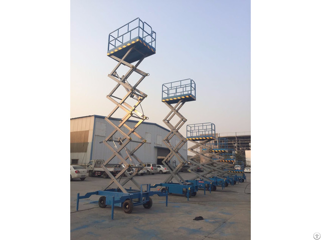 4m To 20m Mobile Electric Scissor Lifts