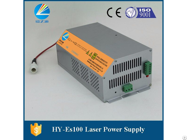 Hy Es100 Co2 Laser Power Supply For Efr F4 Laser Tube