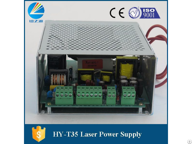 Hy T35 Co2 Laser Power Supply For Laser Plywoodstamp Engraver