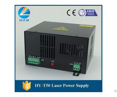 Hy T50 Co2 Laser Power Supply For Spt C50 Laser Tube With 50w