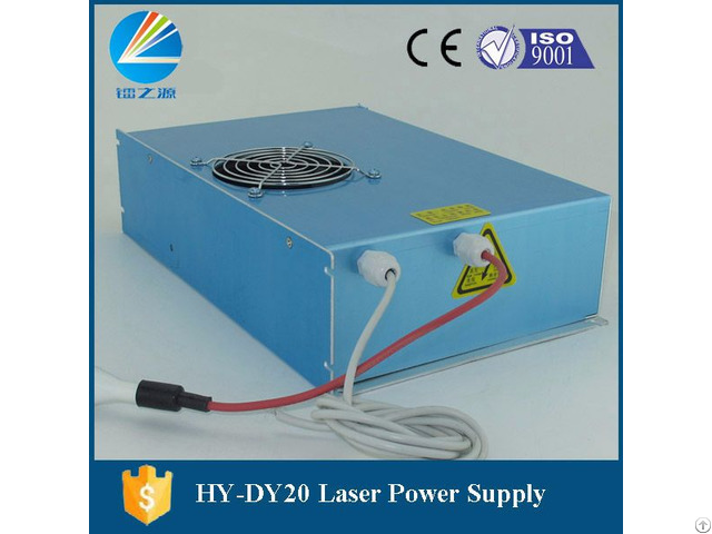 Hy Dy20 Co2 Laser Power Supply With Blue Color For Reci W6 W8 Laser Tube