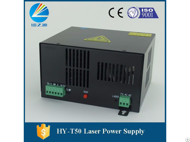 Hy T50 Co2 Power Supply 50w For Spt C50 Tube