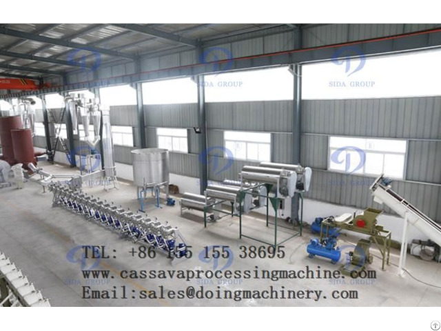 What Is The Feature Of Cassava Starch Processing Machine