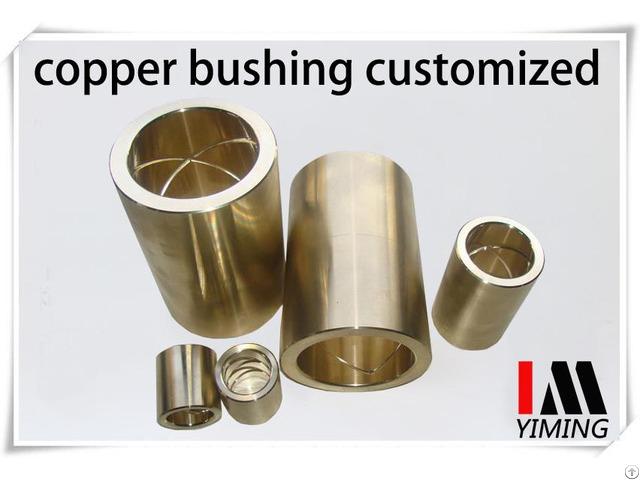 Copper Alloy Sleeve Customized Brass Bush Bronze Bearing
