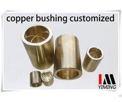 Copper Alloy Sleeve Customized Brass Bush Bronze Bearing