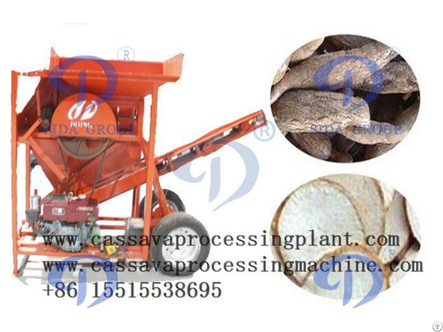 How Is Cassava Peeling Machine Operated