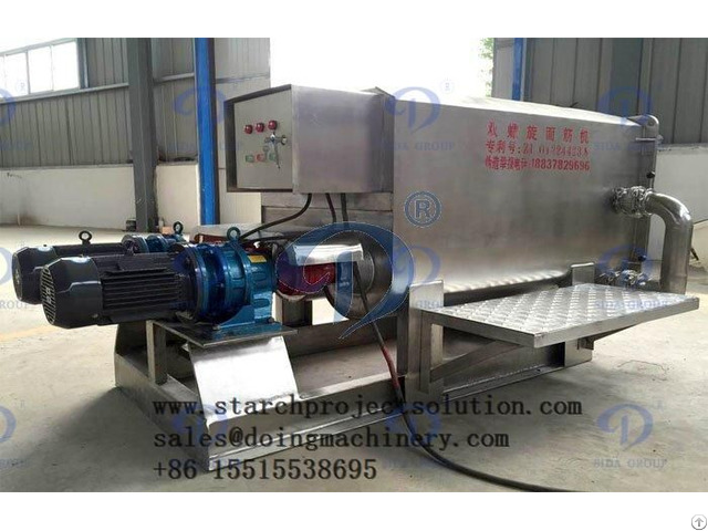 Ntroduction Of The Stainless Steel Gluten Washer