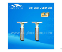 T Slat Wall Cnc Router Cutter Bits For Cutting