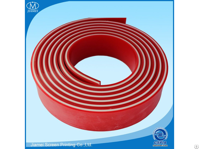 Triple Squeegee Blade Rubber For Silk Screen Printing