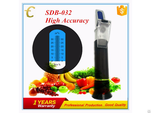 32% Portable Refractometer With Atc
