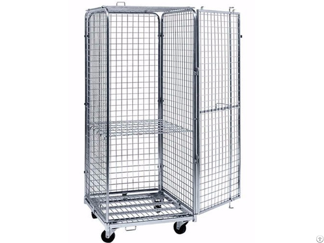 Lockable Wire Container