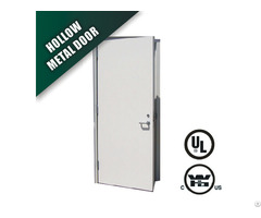 Steel Fire Door With Wh 3 Hours Label