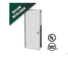 Steel Fire Door With Wh 3 Hours Label