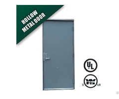 Fire Rated Door Made Of Galvanized Steel