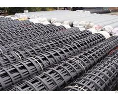 Steel Plastic Geogrid