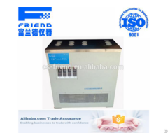Fdt 0315 Cold Filter Plugging Point Tester Low Temperature Multifunction