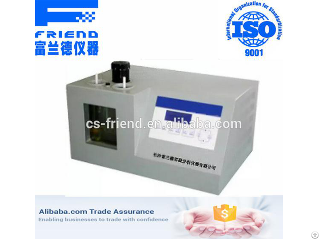 Fdt 0406 Low Temperature Kinematic Viscosity Tester