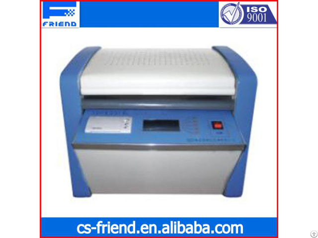 Fdt 0641 Automatic Volume Resistivity Tester