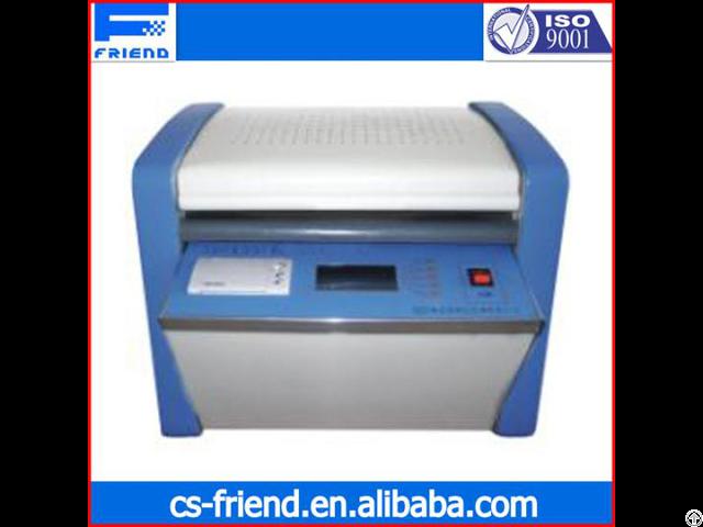 Fdt 0641 Automatic Volume Resistivity Tester