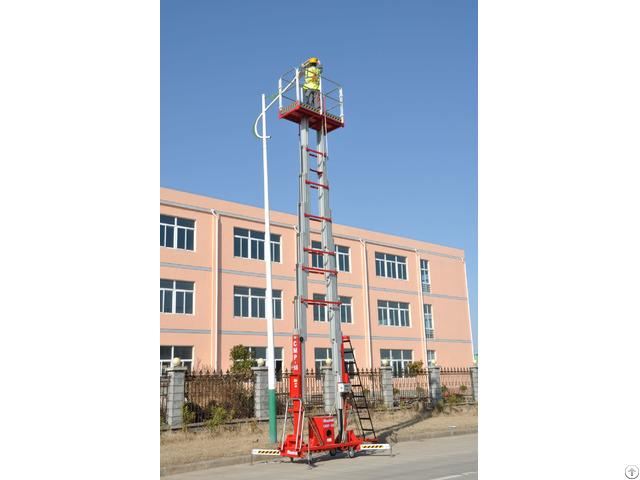 Double Masts Aerial Work Platform Cmp 18