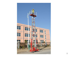 Double Masts Aerial Work Platform Cmp 18