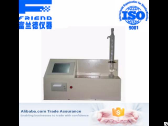 Fdt 0941 Automatic Acid Tester Reflux Method