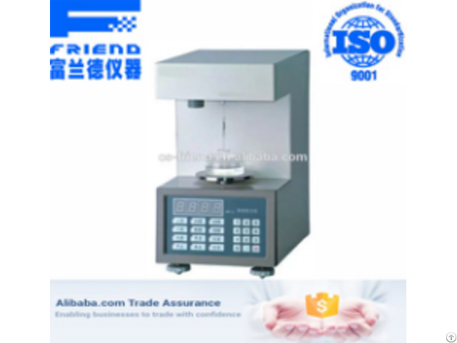 Fdt 1001 Automatic Surface Tension Tester
