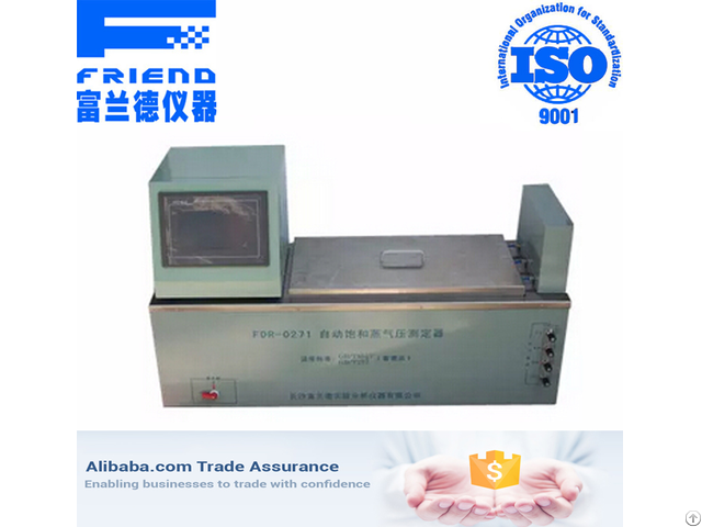 Fdr 0271 Automatic Saturated Vapor Pressure Analyzer