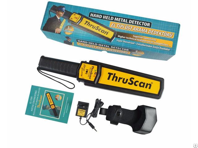 Hand Held Metal Detector Thruscan