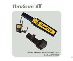 Hand Held Metal Detector Thruscan Dx