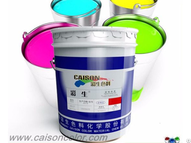 Eco Friendly Liquid Pigment Dispersion