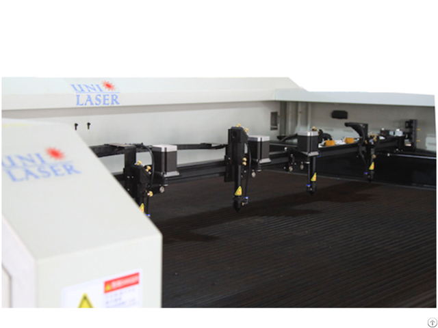 Four Heads Laser Cutting Machine