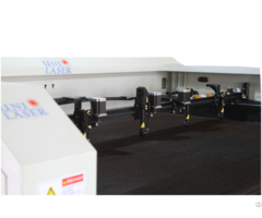 Four Heads Laser Cutting Machine