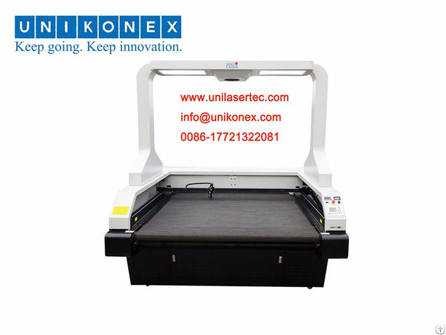Sublimation And Digital Printed Laser Cutting Machine