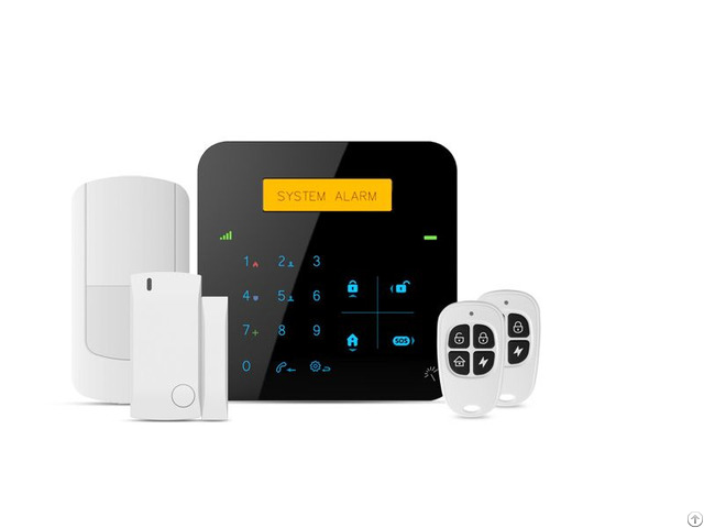 Wireless Smart Touch Wifi Gsm Home Alarm System