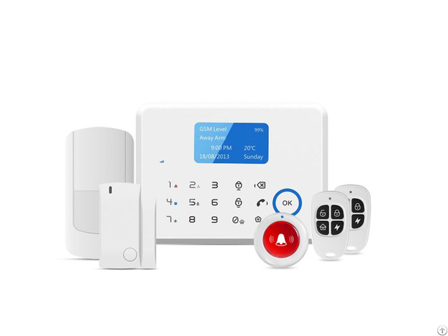 Smart Touch Pstn Gsm Home Security Alarm System