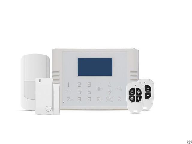 Wireless Alarm System Smart Touch Pstn Gsm