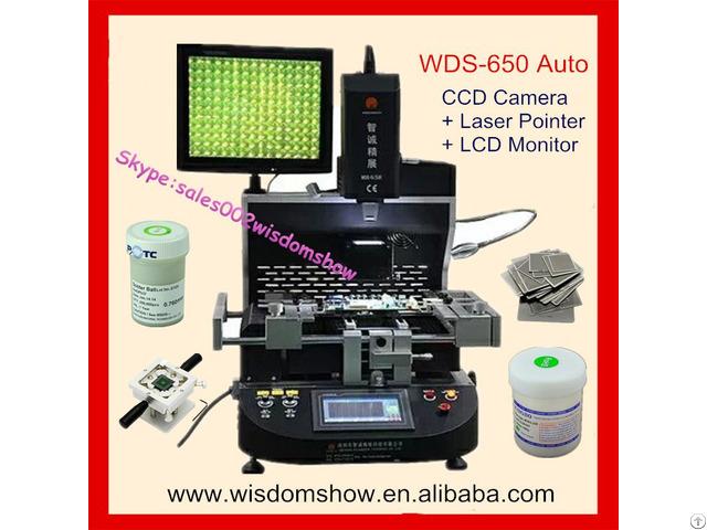 Low Price Laptop Chips Reballing Machine Wds 650 Ccd Camera Bga Rework Station