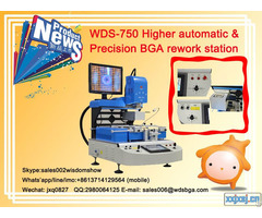 Higher Automatic Bga Rework Station Wds 750 Computer Chipset Repair Machine