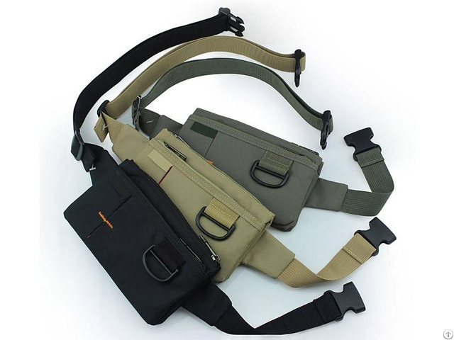 Fashionable Polyester Waist Bag Use For Outdoor