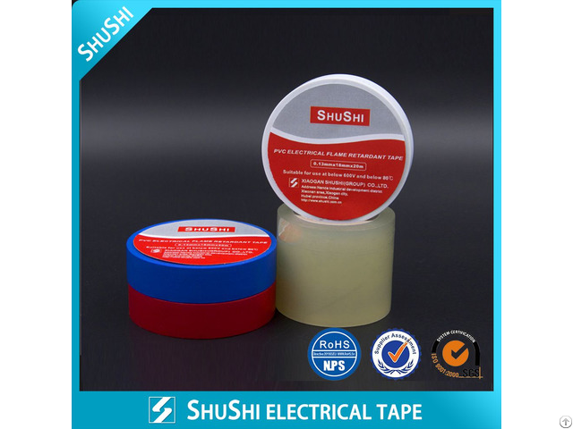Pvc Electrical Fire Retartdant Tape