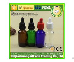 Essential Oil Glass Dropper Bottle With Cap