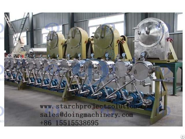 Cassava Starch Hydrocyclone